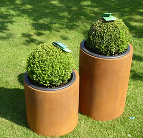 Corten steel flower pots&planter