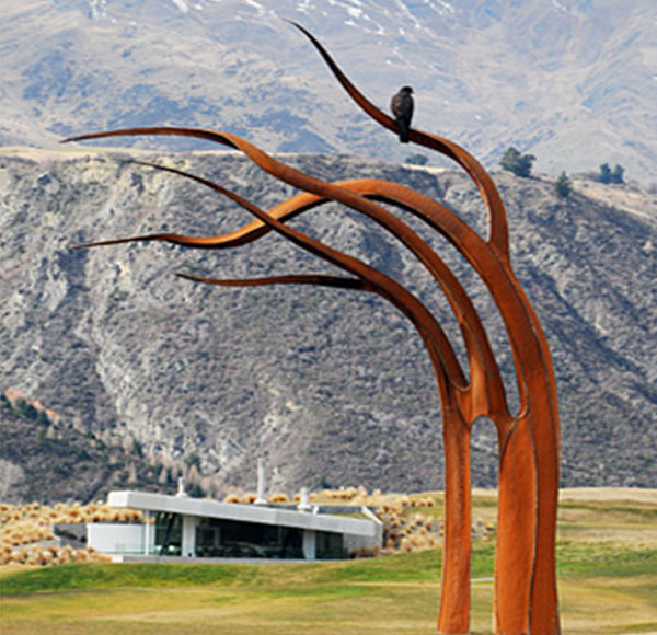 AHL corten steel sculpture
