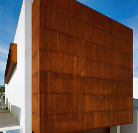 Corten Steel Cladding